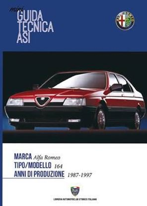 Picture of ALFA ROMEO 164 1987-1997: MINI GUIDA TECNICA ASI