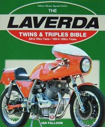 Picture of THE LAVERDA TWINS & TRIPLES BIBLE 650&750CC TWINS 1000 1200 - Ristampa 2016