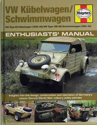 Picture of VW KUBELWAGEN/SCHWIMMWAGEN ENTHUSIASTS' MANUAL (VW TYPE 82 KUBELWAGEN 1940-1945, VW TYPE 128/166 SCHWIMMWAGEN 1942-1944)