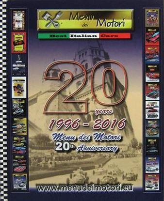 Picture of MENU DEI MOTORI N.20 1996-2016 20TH ANNIVERSARY