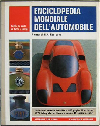 Immagine di ENCICLOPEDIA MONDIALE DELL'AUTOMOBILE