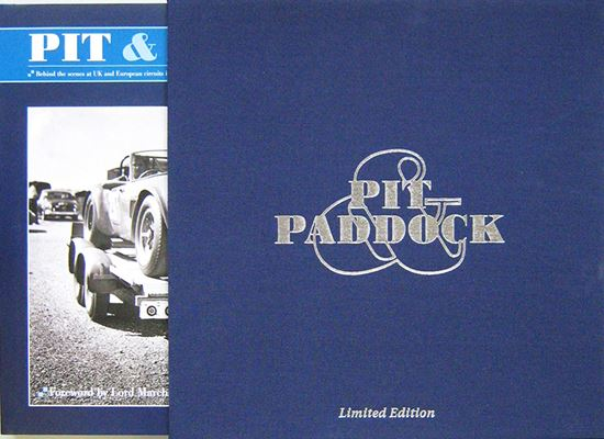 Immagine di PIT & PADDOCK BEHIND THE SCENES AT UK AND EURIPEAN CIRCUITS IN THE 60s AND 70s Limited Edition