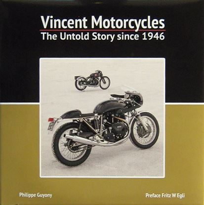 Picture of VINCENT MOTORCYCLES THE UNTOLD STORY SINCE 1946