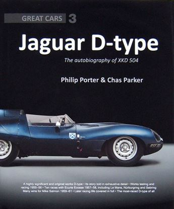 Picture of JAGUAR D-TYPE THE AUTOBIOGRAPHY OF XKD 504