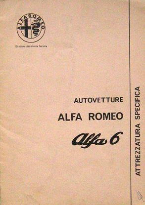 Picture of AUTOVETTURE ALFA 6 ATTREZZATURA SPECIFICA