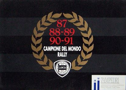 Picture of 87 88 89 90 91 CAMPIONE DEL MONDO RALLY LANCIA DELTA