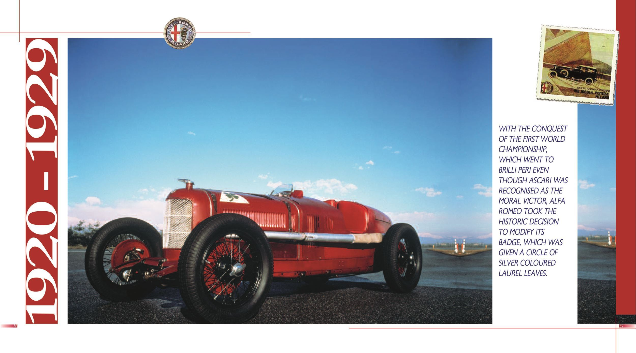Alfa Romeo From 1910 To The Present Libreria Dellautomobile Ford Tractor Electrical Wiring Diagram Picture Of