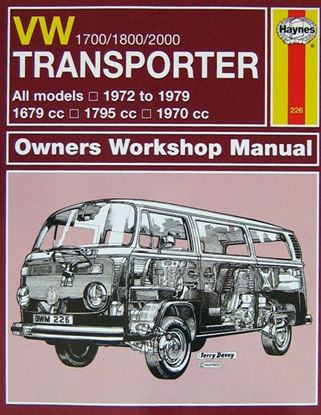Immagine di VW TRANSPORTER 1700/1800/2000 1972-79 N. 226 OWNERS WORKSHOP MANUAL