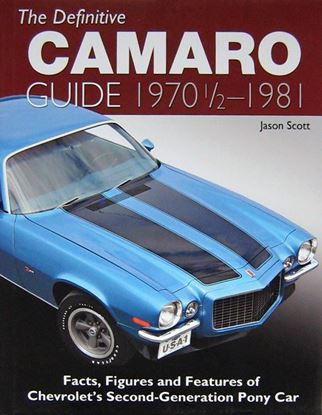 Immagine di THE DEFINITIVE CAMARO GUIDE 1970 1/2 - 1981