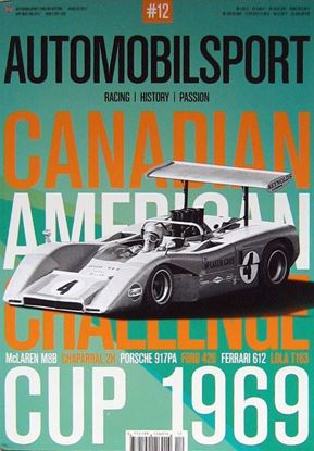 Picture of AUTOMOBILSPORT N.12 Canadian American Challenge Cup 1969