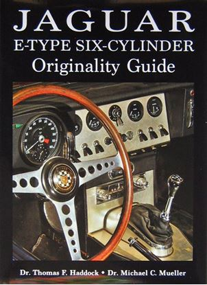 Picture of JAGUAR E TYPE SIX CYLINDER ORIGINALITY GUIDE