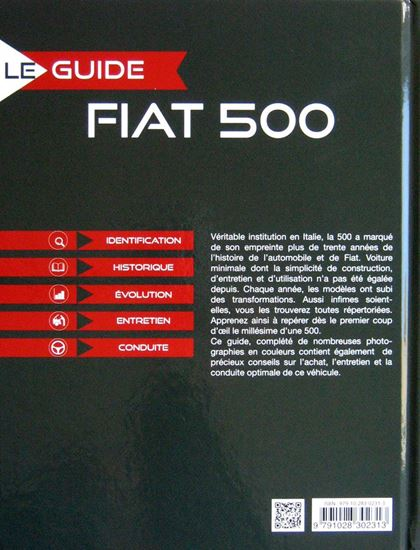 Picture of LE GUIDE DE LA FIAT 500