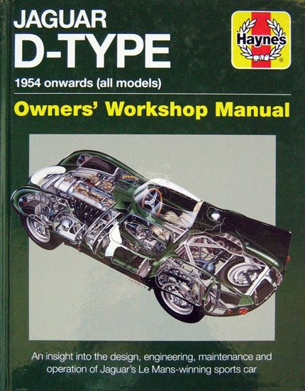 Immagine di JAGUAR D-TYPE 1954 ONWARDS (ALL MODELS) An insight into design, engineering, maintenance and operation of Jaguar's Le Mans-winning sports car