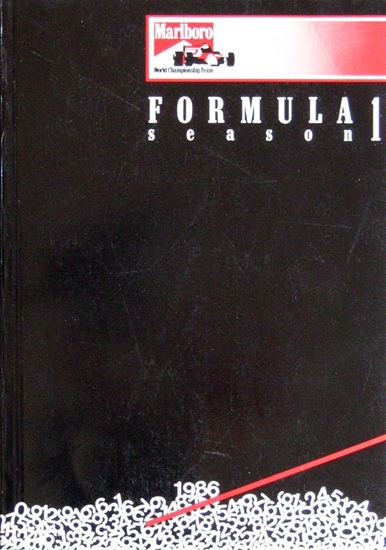 Picture of FORMULA 1 SEASON 1986