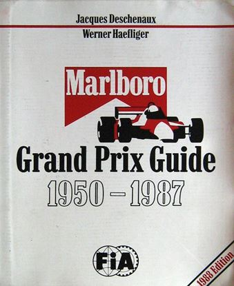 Picture of MARLBORO GRAND PRIX GUIDE 1950-1987