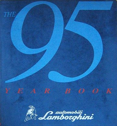 Immagine di THE 1995 YEARBOOK AUTOMOBILI LAMBORGHINI