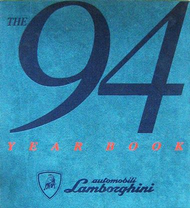 Immagine di THE 1994 YEARBOOK AUTOMOBILI LAMBORGHINI