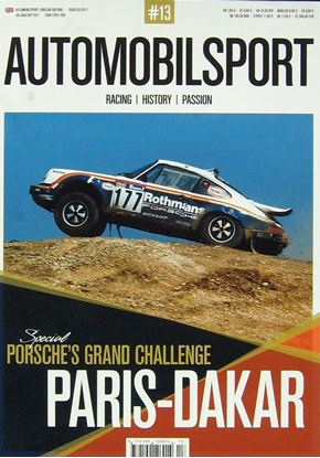 Picture of AUTOMOBILSPORT N.13 SPECIAL PORSCHE´S GRAND CHALLENGE PARIS-DAKAR
