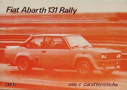 Picture of FIAT ABARTH 131 RALLY: USO E CARATTERISTICHE