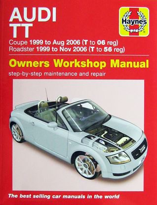 Picture of AUDI TT COUPE & ROADSTER 1999 - 2006 OWNERS WORKSHOP MANUAL N.6369