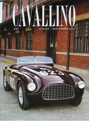 Picture of CAVALLINO THE JOURNAL OF FERRARI HISTORY N° 220 AUGUST/SEPTEMBER 2017