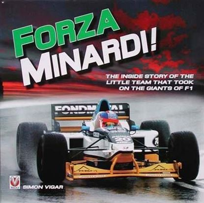 Picture of FORZA MINARDI! COPIA FIRMATA DAL PILOTA/COPY SIGNED BY MINARDI