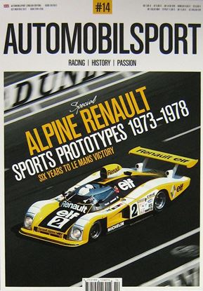 Immagine di AUTOMOBILSPORT N.14: Special Alpine Renault Sports Prototypes 1973-1978