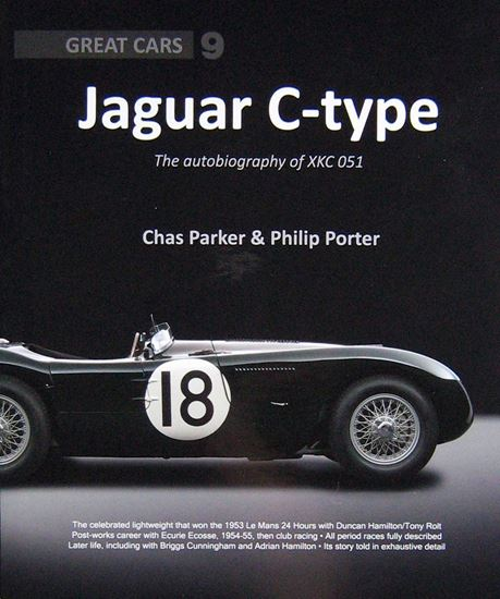 Picture of JAGUAR C-TYPE THE AUTOBIOGRAPHY OF XKC 051