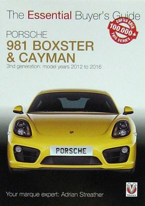 Immagine di PORSCHE 981 BOXSTER & CAYMAN 3rd GENERATION MODEL YEARS 2012 TO 2016  THE ESSENTIAL BUYER'S GUIDE