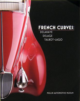 Picture of FRENCH CURVES DELAHAYE, DELAGE, TALBOT-LAGO