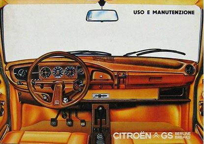 Picture of CITROEN GS BERLINA E BREAK 1979 USO E MANUTENZIONE