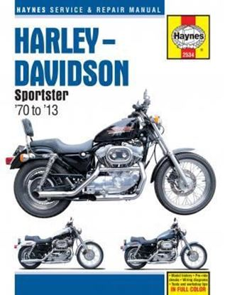 Picture of HARLEY-DAVIDSON SPORTSTERS '70 TO '13 SERVICE & REPAIR MANUAL N. 2534