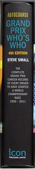 Picture of AUTOCOURSE GRAND PRIX WHO'S WHO. Enlarged and Revised Fourth Edition