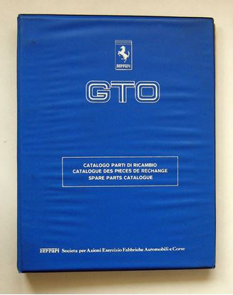 Picture of FERRARI GTO 1984 CATALOGO PARTI DI RICAMBIO/CATALOGUE DES PIECES DE RECHANGE/SPARE PARTS CATALOGUE