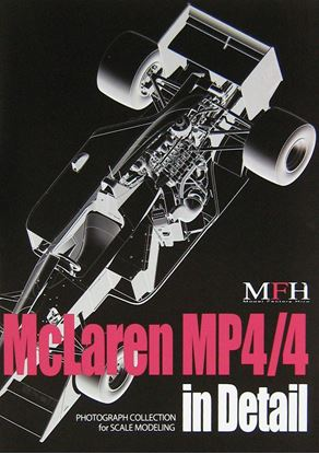 Picture of MCLAREN MP4/4 IN DETAIL PHOTOGRAPH COLLECTION FOR SCALE MODELING VOL.1
