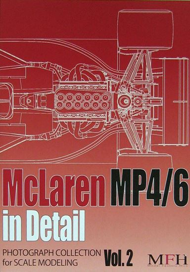 Immagine di MCLAREN MP4/6 IN DETAIL PHOTOGRAPH COLLECTION FOR SCALE MODELING VOL.2