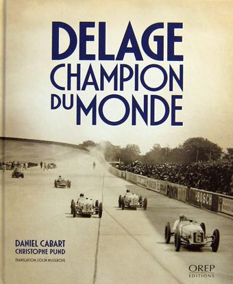 Picture of DELAGE CHAMPION DU MONDE