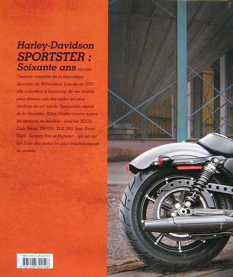 Picture of HARLEY DAVIDSON SPORTSTER SOIXANTE ANS
