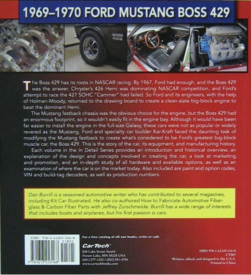 Picture of 1969-1970 FORD MUSTANG BOSS 429: MUSCLE CARS IN DETAIL N. 7