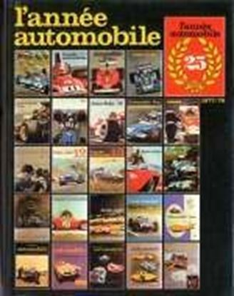 Picture of ANNEE AUTOMOBILE N.25 1977/78