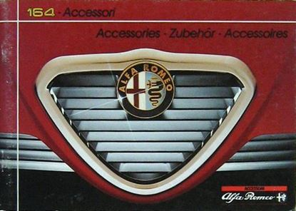 Picture of ALFA ROMEO 164 ACCESSORI/ACCESSORIES/ZUBEHOR/ACCESSOIRES