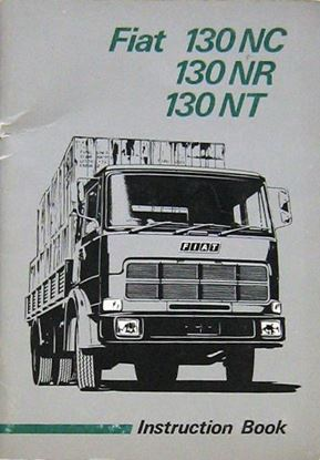 Picture of FIAT 130 NC 130 NR 130 NT INSTRUCTION BOOK. EDIZIONE 1974