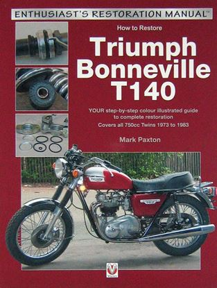 Picture of HOW TO RESTORE TRIUMPH BONNEVILLE T140