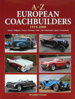 Picture of A-Z EUROPEAN COACHBUILDERS 1919-2000