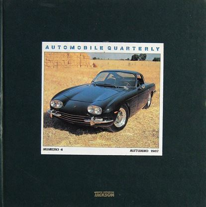 Immagine di AUTOMOBILE QUARTERLY N.4 - AUTUNNO 1987
