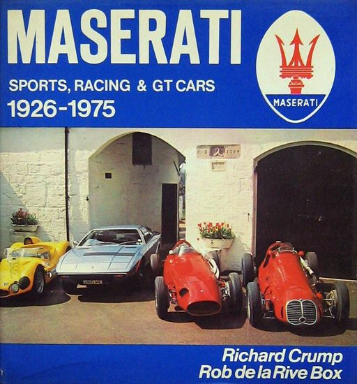 Immagine di MASERATI SPORTS, RACING & GT CARS 1926-1975