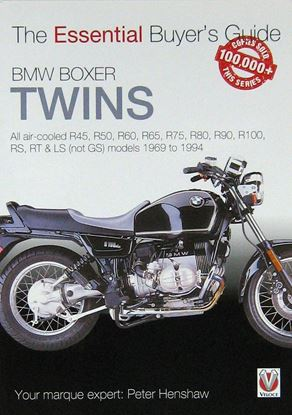 Picture of BMW BOXER TWINS THE ESSENTIAL BUYER'S GUIDE. All air-cooled R45, R50, R60, R65, R75, R80, R90, R100, RS, RT & LS (Not GS) models 1969 to 1994