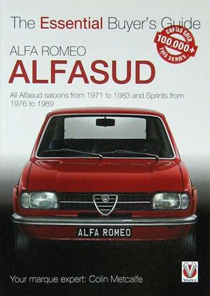 Picture of ALFA ROMEO ALFASUD THE ESSENTIAL BUYER'S GUIDE All saloon models from 1971 to 1983 & Sprints from 1976 to 1989