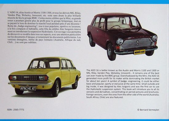 Immagine di BMC ADO 16 (AUSTIN AND MORRIS 1100/1300 SERIES) AUTOS & CATALOGUES/CARS & BROCHURES