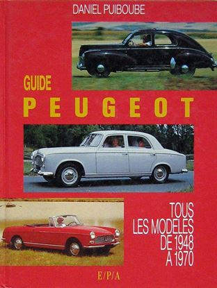 Picture of GUIDE PEUGEOT TOUS LES MODELES DE 1948 A 1970